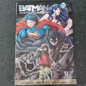 Manga style Batman and Justice League Comic